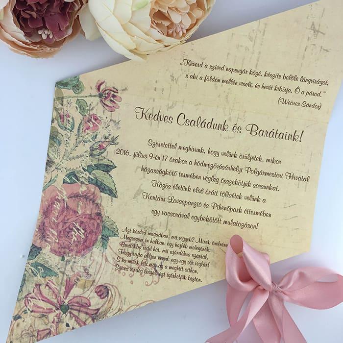 b55c645366 Milyen a jó esküvői meghívó? - Esküvőnyomda